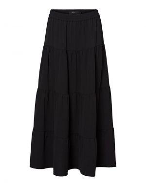 Vero Moda Sasha Ankle Skirt in Black
