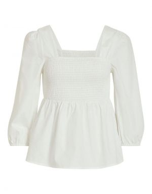 Vila Olisa 3/4 Top in White