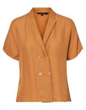 Vero Moda Anya Shirt in Meerkat