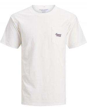 Jack and Jones Eazy T-Shirt in Cloud Dancer