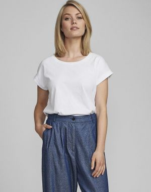 Numph Beverley T-shirt in White