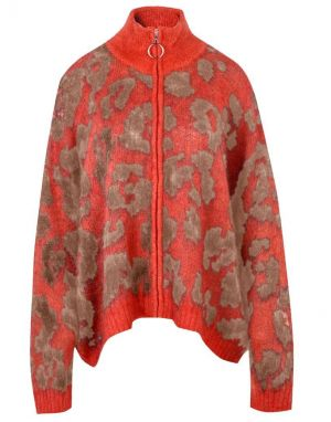 Religion Maximum Cardigan in Red