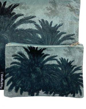 Vanilla Fly Velvet Pouch Small - Print 9