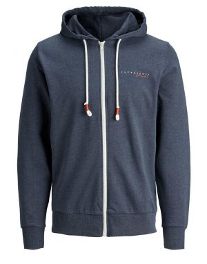 Jack and Jones Clayton Hoodie in Navy Blazer