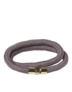 Jack and Jones Crib Cord Bracelet in Grey