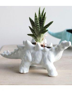 Dinosaur Planter - Stegosaurus