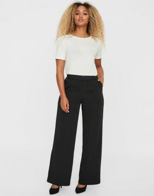 Vero Moda Shirley Tailored Trousers in Black