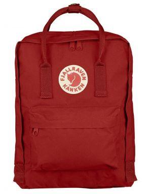 fjallraven classic kanken backpack in deep red