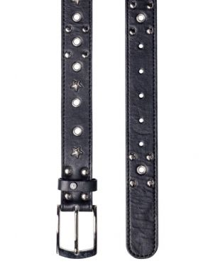Religion Shine Belt in Black