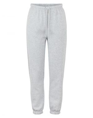 Pieces Chilli Highwaist Sweat Pant Joggers in Light Grey