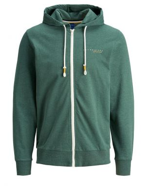 Jack and Jones Clayton Hoodie in Trekking Green