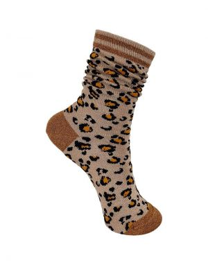 Black Colour Leo Sock in Natural