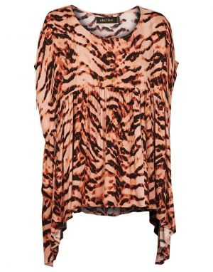 Eb and Ive Mahala Top in Ochre