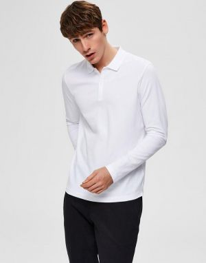 selected homme mens milano polo shirts