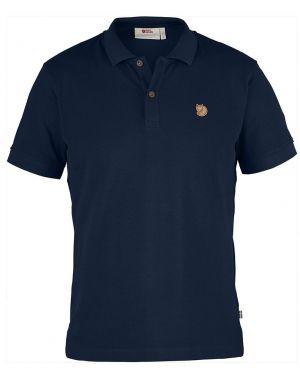 Fjallraven Ovik Polo Shirt in Navy Blue