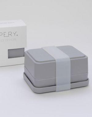 HOPERY 3 in 1 Soap Box - Grey