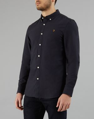 navy farah shirt