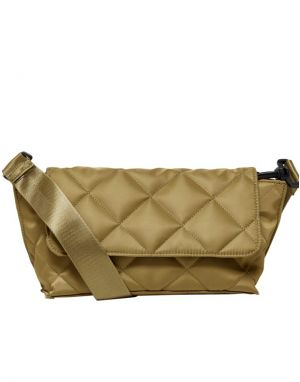 Only Ella Nylon Quilted Bag in Dijon