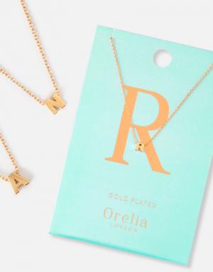 Orelia Initial Necklace