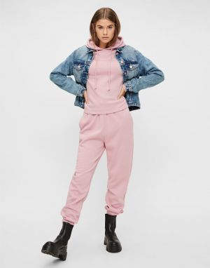 Pieces Chilli Highwaist Sweat Pant Joggers in Zephyr