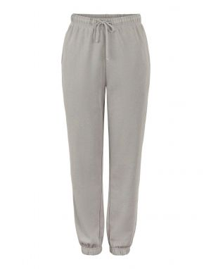 Pieces Chilli Washed Sweat Pants in Grey Melange
