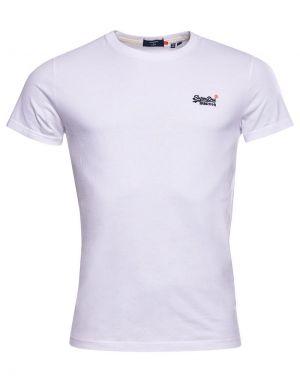 Superdry Orange Label Vintage Embroidery T-shirt in Optic