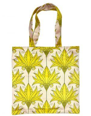 Vanilla Fly Velvet Tote Bag - Print 12