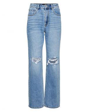 Vero Moda Kithy Straight Ripped Jeans