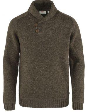 Fjallraven Lada Sweater in Bogwood Brown