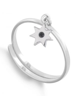 SVP Supersonic Charm Ring in Silver Sunstar