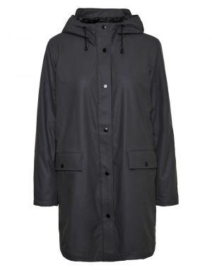 Vero Moda Asta Teddy Jacket in Asphalt