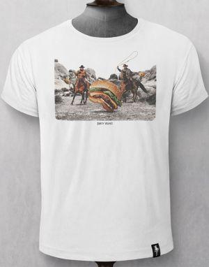 Dirty Velvet Burger Herders T-shirt - White