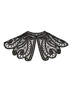 Vero Moda Emilia Lace Collar in Black