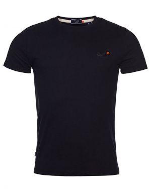 Superdry Orange Label Vintage Embroidery T-shirt in Black