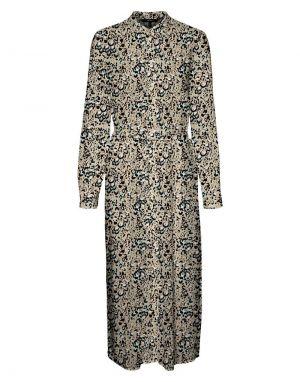 Vero Moda Easy Long Shirt Dress in Nomad