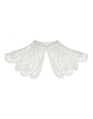 Vero Moda Emilia Lace Collar in White