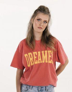 Sundae Tee Dreamer T-shirt in Cherry