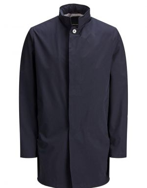 Jack and Jones Gran Mac Coat in New Navy