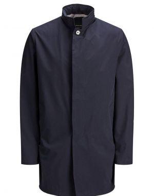 Jack and Jones Gran Mac Coat in New Navy