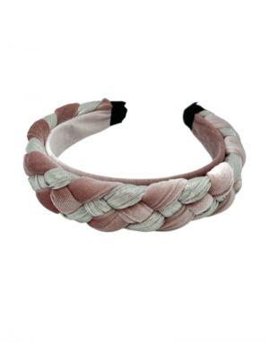 Black Colour Rome Braided Headband