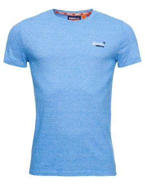 Superdry Orange Label Vintage Embroidery T-shirt in Royal Blue Feeder