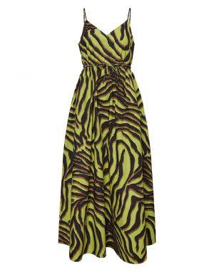 Vero Moda Gabbi Maxi Dress in Citron