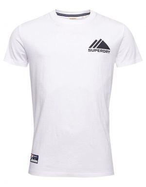 Superdry Sport Mono Mini T-shirt in Optic White