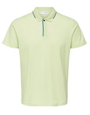 Selected Homme Marcus Polo Top in Lime