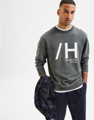 Selected Homme Madrid Sweater in Urban Chic