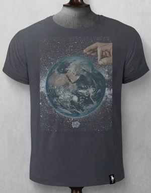 Dirty Velvet Ready to Burst T-shirt in Charcoal