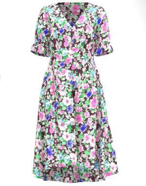 Vero Moda Elin Floral V-Neck Dress