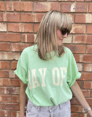 Sundae Tee Day Off T-shirt in Green