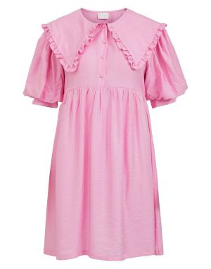 Vila Cami Dress in Begonia Pink