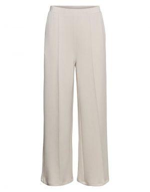 Vero Moda Silky Trousers in Moonbeam